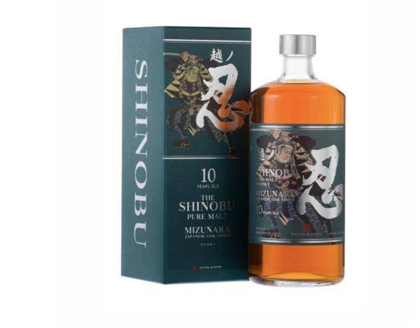 Shinobu pure malt Japanse Whisky 10 jaar