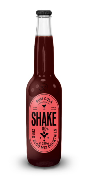 Shake cocktail Rum Cola 0%