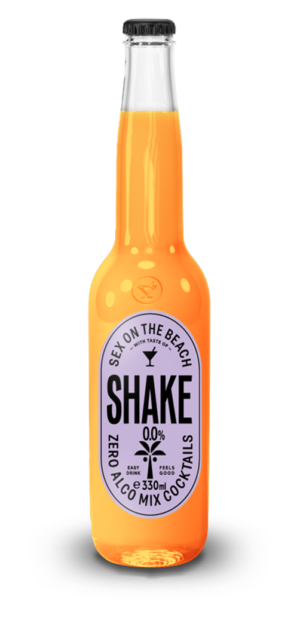 Shake cocktail Sex on the Beach 0%