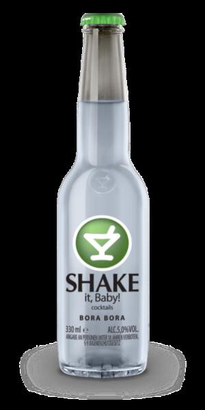 Shake cocktail Bora Bora 5% alco