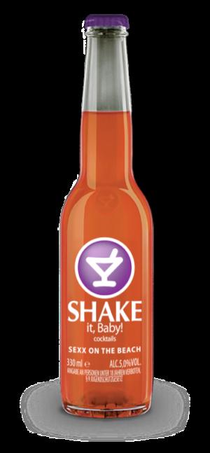 Shake cocktail Sex on the beach 5% alco